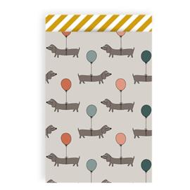 Cadeauzakjes Happy Hotdog | 5 stuks | M