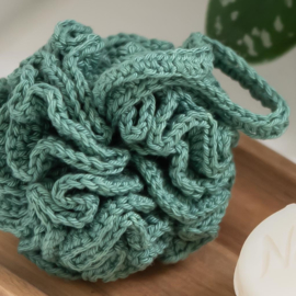 Yarn and Colors | Haakpakket | Shower Pouf