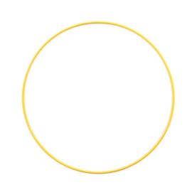 Metalen ring | 25 cm | Geel