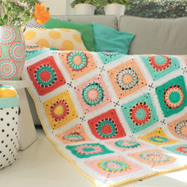 Haakpatroon | Yarn and Colors Booklet | Blossom Blanket