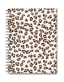 Notitieboek A5 | Stationery & Gift | Pink Leopard