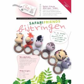 Haakpatroon Safari Friends   Afgedrukt exemplaar