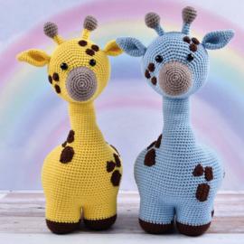 Haakpatroon Giraffe Gerry   Afgedrukt exemplaar