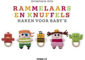 Boek   Rammelaars en knuffels haken voor baby's   Annemarie Arts