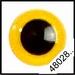 Veiligheidsoogjes | Rond | Geel | 5 paar | 6 mm