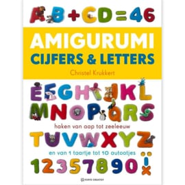 Boek | Amigurumi Cijfers & Letters | Christel Krukkert