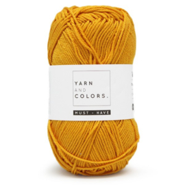Yarn and Colors Must-have 015 Mustard