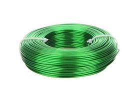 Aluminiumdraad / ijzerdraad voor punnikvormen | Groen | 60 meter