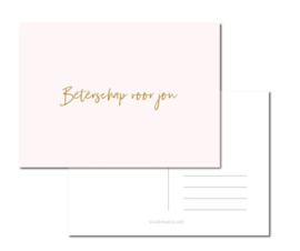 Wenskaart   Stationery & Gift   Beterschap voor jou