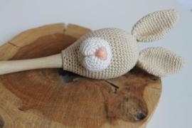 Houten sambabal | 20 cm | Creotime | Geschikt voor Piekje-haakpatronen