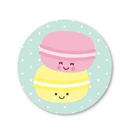Stickers | Macarons | Studio Schatkist | 5 stuks