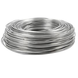 Aluminiumdraad / ijzerdraad voor punnikvormen | Zilver | 12 meter