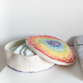 Yarn and Colors | Haakpakket | Rainbow Basket