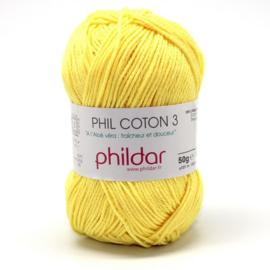 Phildar Phil Coton 3 1111 Citron