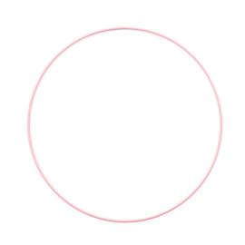 Metalen ring | 25 cm | Babyroze