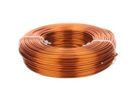 Aluminiumdraad / ijzerdraad voor punnikvormen | Oranje | 60 meter