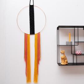 Yarn and Colors | Haakpakket | Must-Have Boho Wall Hanging