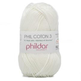 Phildar Phil Coton 3 1397 Craie