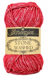 Scheepjes Stone Washed 807 Red Jasper