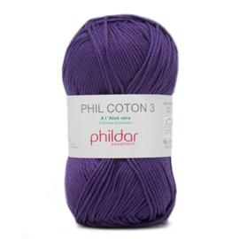 Phildar Phil Coton 3 0102 Encre