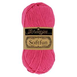 Scheepjes Softfun 2495 Hot Pink