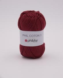 Phildar Phil Coton 3 2780 Aubergine