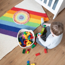 Yarn and Colors | Haakpakket | Rainbow Rug