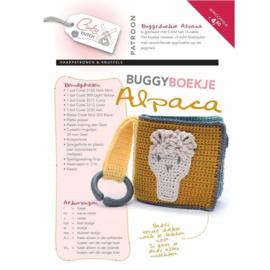 Haakpatroon Buggyboekje Alpaca   Afgedrukt exemplaar