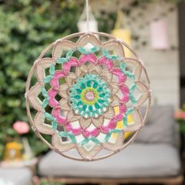 Yarn and Colors | Haakpakket | Garden Party Mandala / Onderzetter