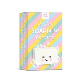 Blokje zeep | Studio Schatkist | Just a SOAPprise for you | Gekleurd