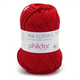 Phildar Phil Coton 3 1459 Griotte