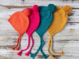 Gratis haakpatroon | Durable | Slouchy muts en sjaal - voor kinderen en volwassenen