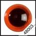 Veiligheidsoogjes | Rond | Amber transparant | 5 paar | 6 mm