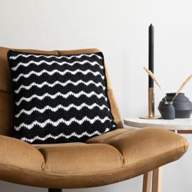 Yarn and Colors | Haakpakket | Waves Comfy Cushion