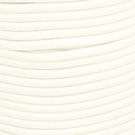 Koordelastiek 3 mm - Wit