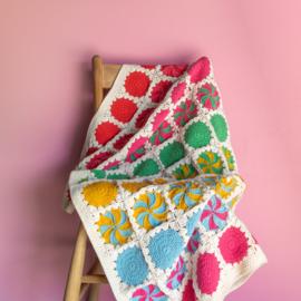 Yarn and Colors | Haakpakket | Circles and Spirals Blanket