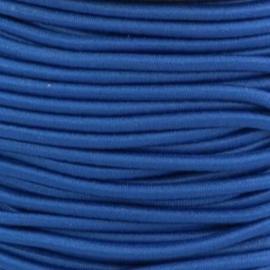 Koordelastiek 3 mm - Marineblauw