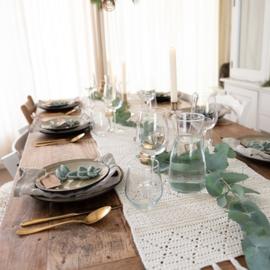Yarn and Colors | Haakpakket | Glamorous Table Runner
