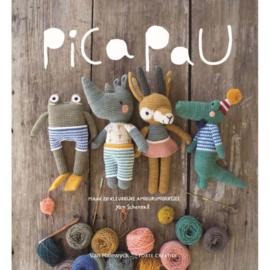 Boek   Pica Pau 1: maak 20 kleurrijke amigurumidiertjes   Yan Schenkel