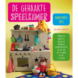 Boek | De gehaakte speelkamer | Annemarie Arts