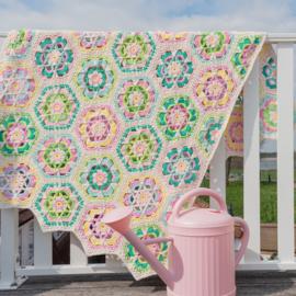 Yarn and Colors | Haakpakket | Garden Party Blanket