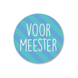 Stickers | Voor meester | Studio Schatkist | 5 stuks