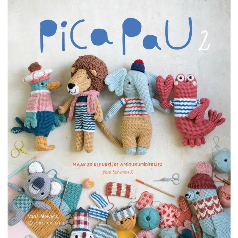 Pica Pau 2: maak 20 kleurrijke amigurumidiertjes