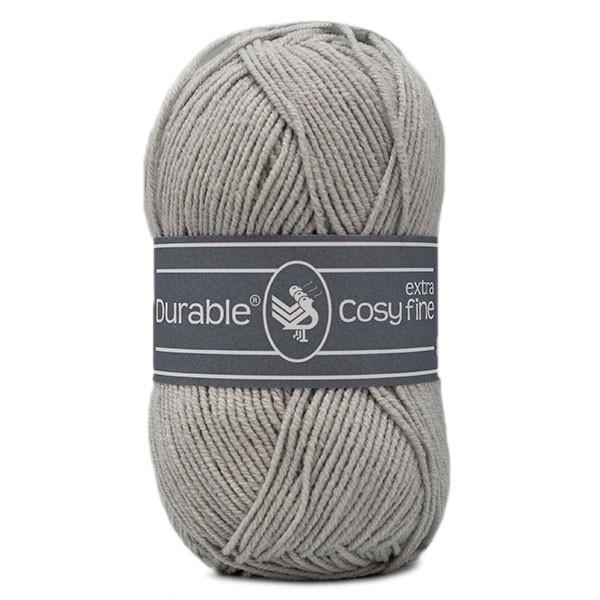 Durable Cosy Extra Fine 2228 Silver Grey