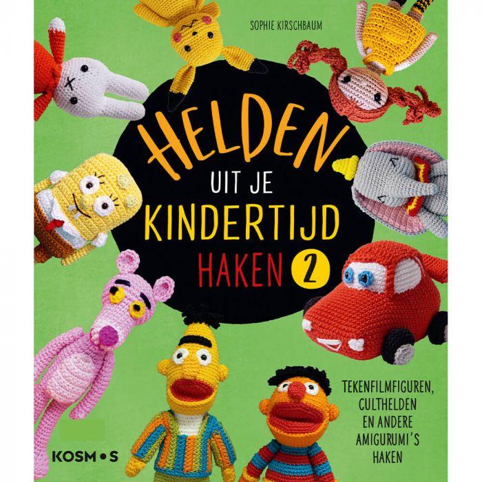 Boek   Helden uit je kindertijd haken 2   Sophie Kirschbaum