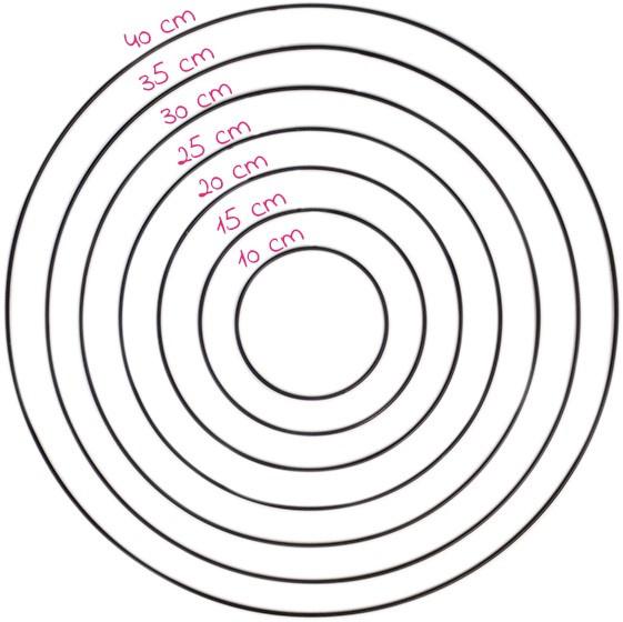 Metalen ring | Yarn and Colors | Zwart