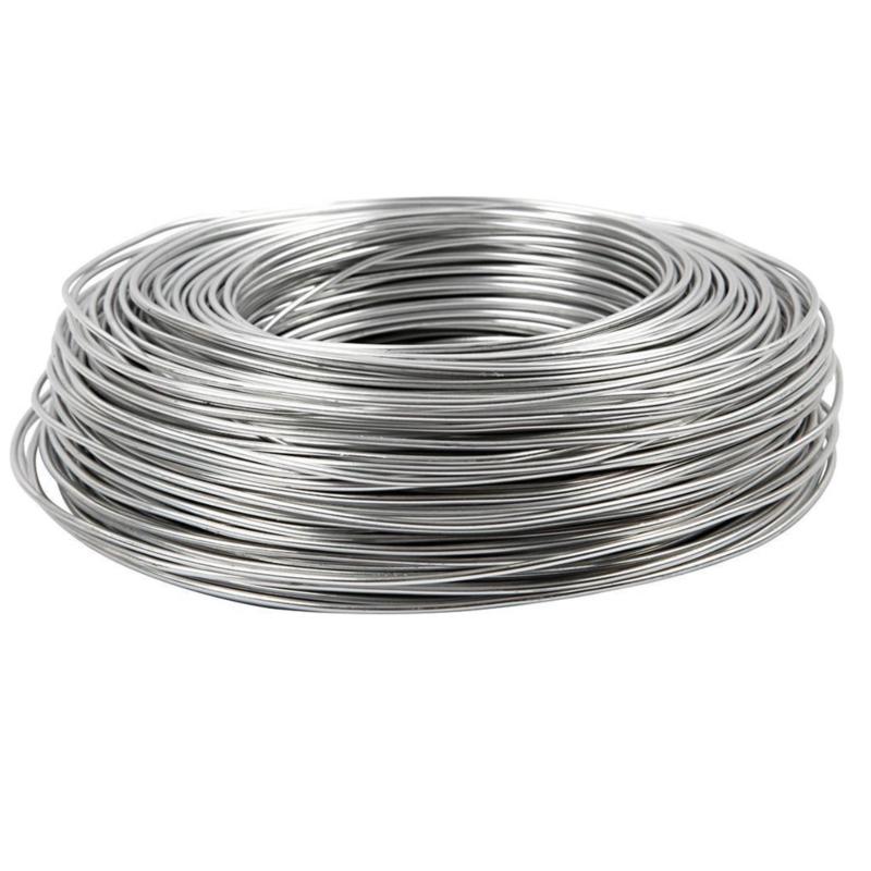 Aluminiumdraad / ijzerdraad voor punnikvormen   60 meter