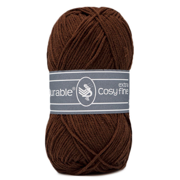 Durable Cosy Extra Fine 385 Coffee