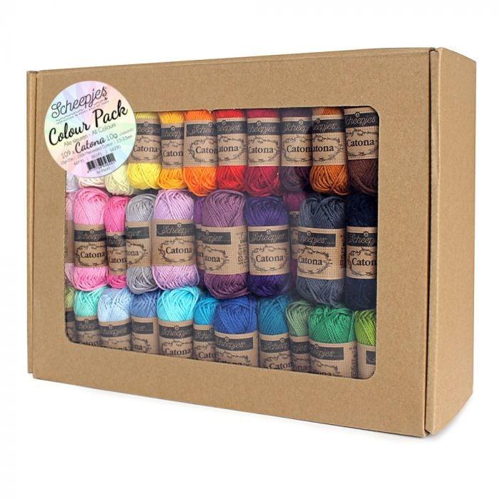 Scheepjes Catona 10 gram Colourpack | 109 kleuren