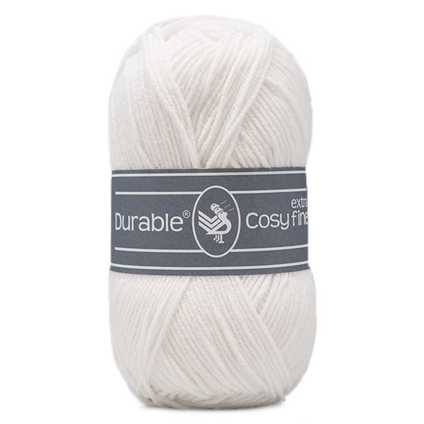 Durable Cosy Extra Fine 310 White